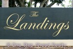 The Landings community sign
